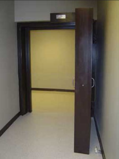 Laboratory door / hospital / swinging / radiation shielding Radiation Protection Products