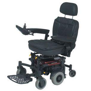 Electric wheelchair / height-adjustable / exterior / interior max. 100 kg | Sena Roma Medical Aids
