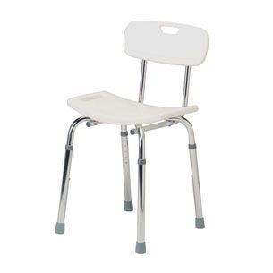 Shower chair / with backrest / height-adjustable max. 100 kg | 4207A Roma Medical Aids