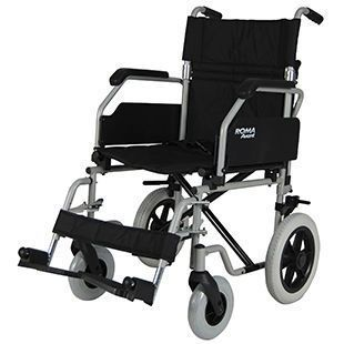 Height-adjustable patient transfer chair max. 114 kg | 1630 Roma Medical Aids