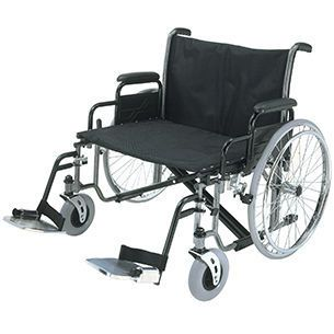 Passive wheelchair / folding / with legrest max. 317 kg | 1473X Roma Medical Aids
