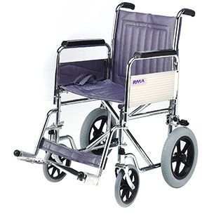 Height-adjustable patient transfer chair max. 114 kg | 1430 Roma Medical Aids