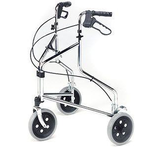 3-caster rollator / folding / height-adjustable max. 127 kg | 2320 Roma Medical Aids