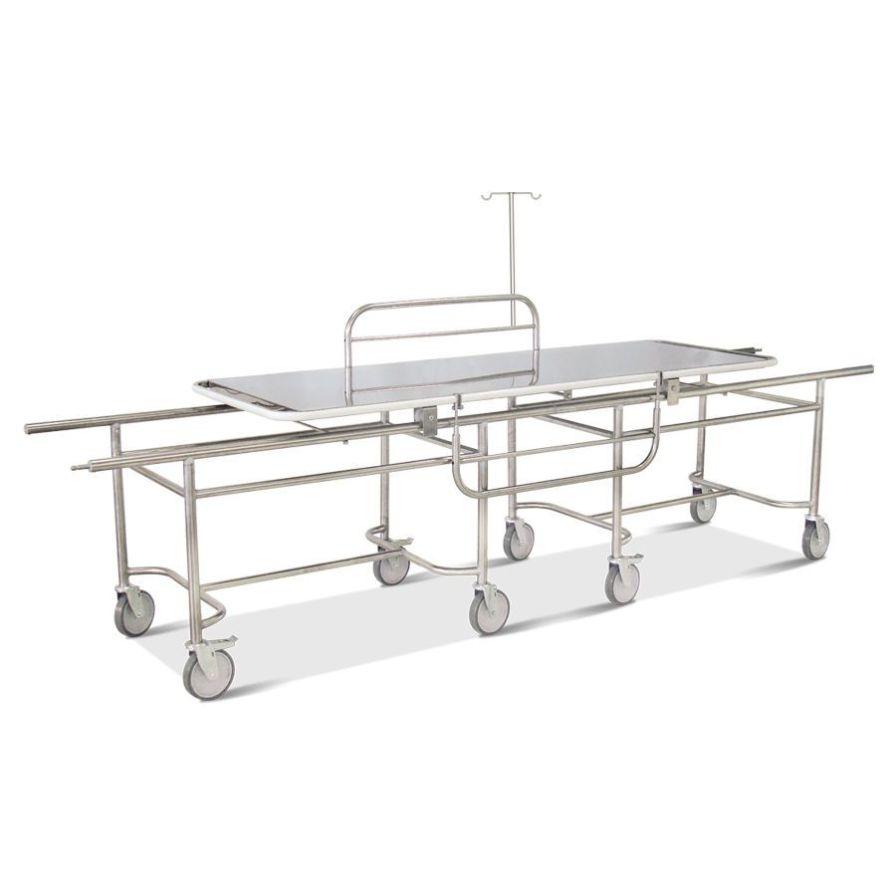 Patient transfer stretcher trolley / 1-section HM 2053 D Hospimetal Ind. Met. de Equip. Hospitalares