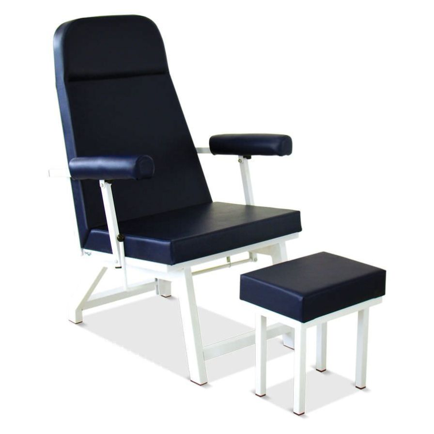 Medical sleeper chair with legrest HM 2056 K Hospimetal Ind. Met. de Equip. Hospitalares