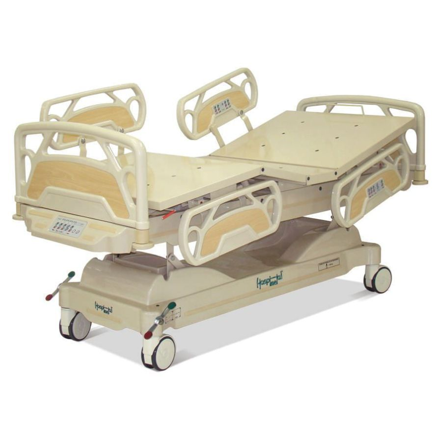 Electrical bed / Trendelenburg / reverse Trendelenburg / height-adjustable HM 2002 C Hospimetal Ind. Met. de Equip. Hospitalares