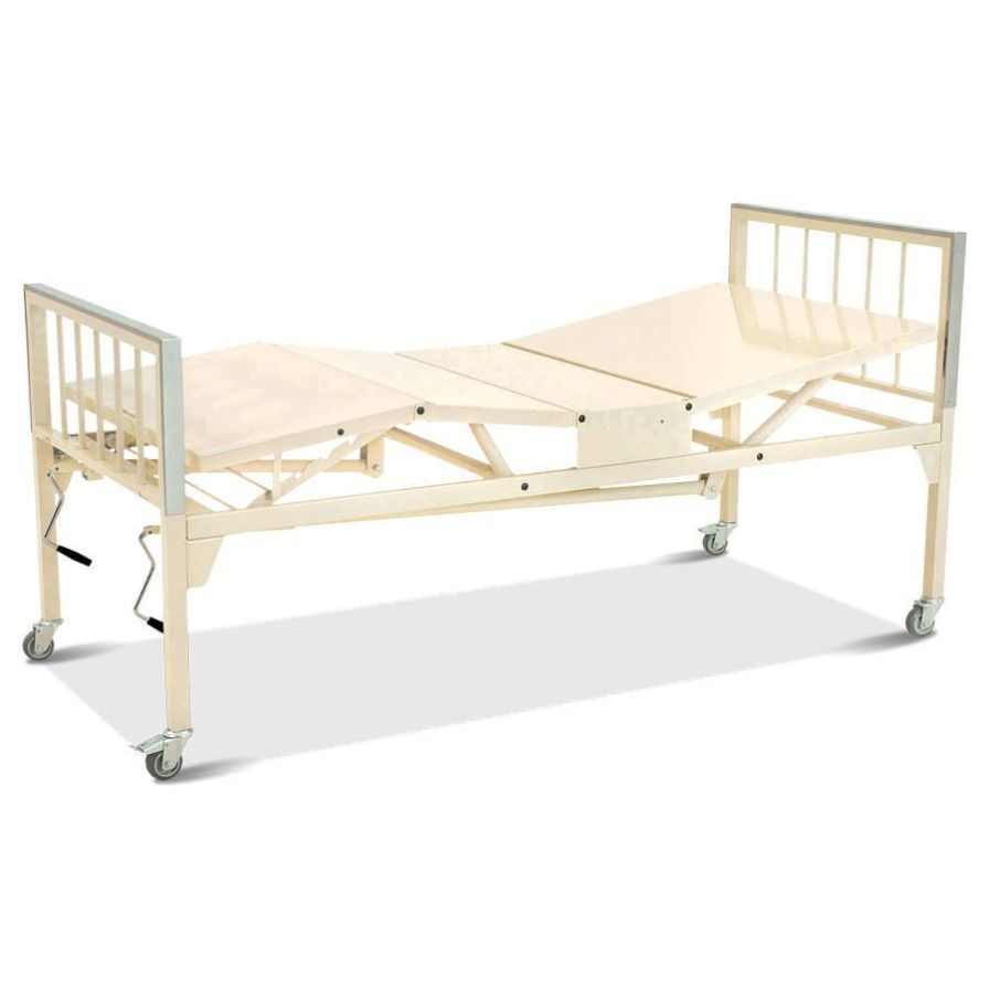 Mechanical bed / 4 sections HM 2003 - SQUARE Hospimetal Ind. Met. de Equip. Hospitalares