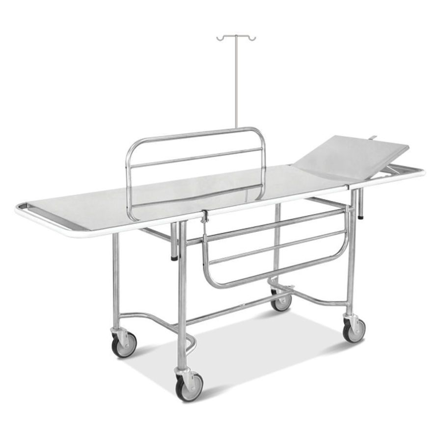 Transport stretcher trolley / 2-section HM 2019 C Hospimetal Ind. Met. de Equip. Hospitalares
