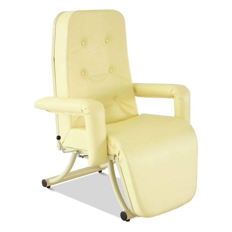 Medical sleeper chair / on casters / reclining / manual HM 2056 E Hospimetal Ind. Met. de Equip. Hospitalares