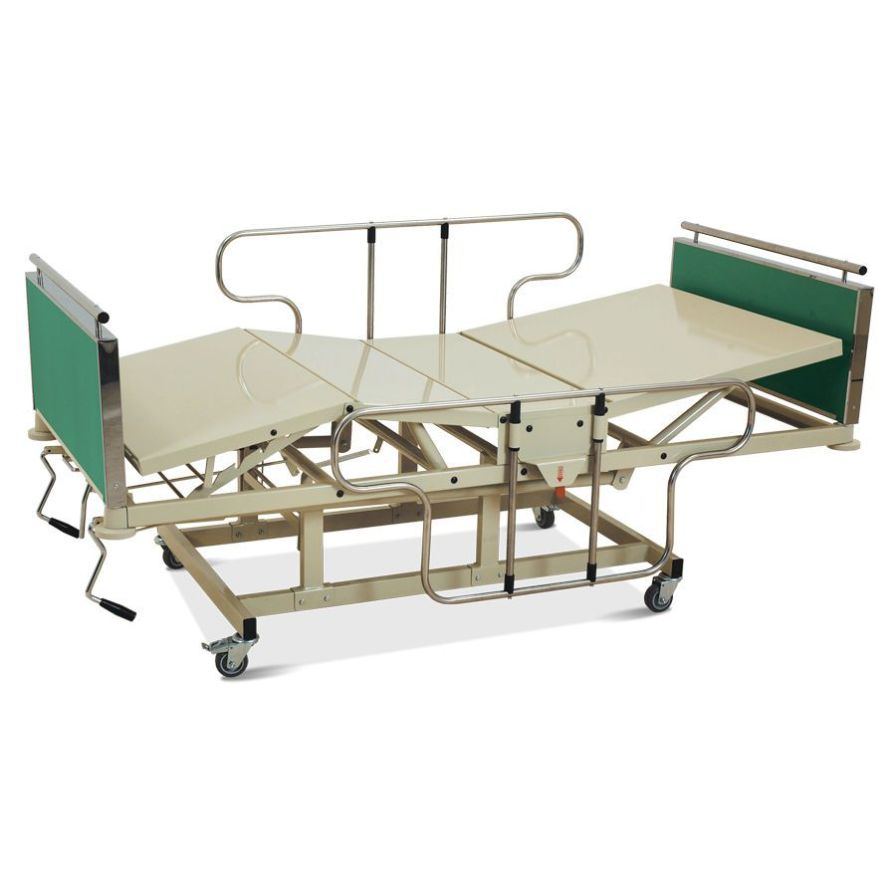 Mechanical bed / 4 sections HM 2004 C Hospimetal Ind. Met. de Equip. Hospitalares