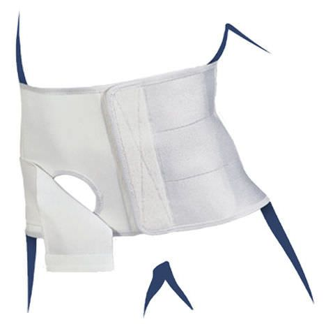 Lumbar support belt / with colostomy pouch opening STOMACARE BASKO Healthcare