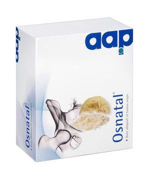 Allograft bone substitute / rigid Osnatal® Aap Implantate