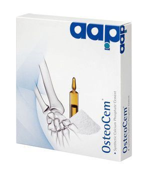 Bone cement OsteoCem® Aap Implantate