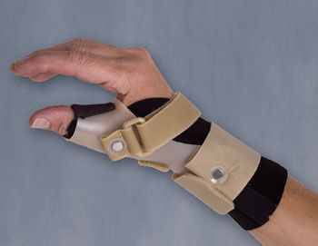 Thumb splint (orthopedic immobilization) / immobilisation THUMSAVER™ CMC LONG 3-Point Products