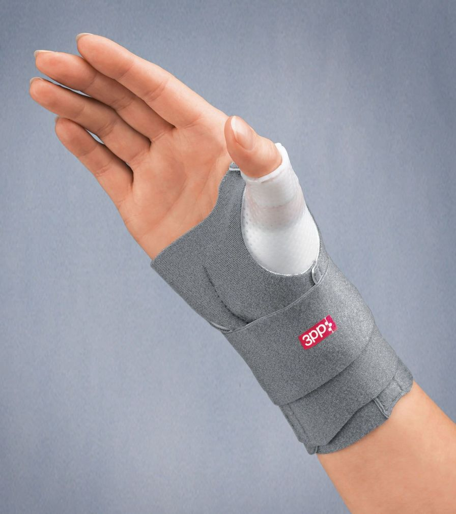 Thumb splint (orthopedic immobilization) / wrist strap 3PP® THUMSPICA™ PLUS 3-Point Products
