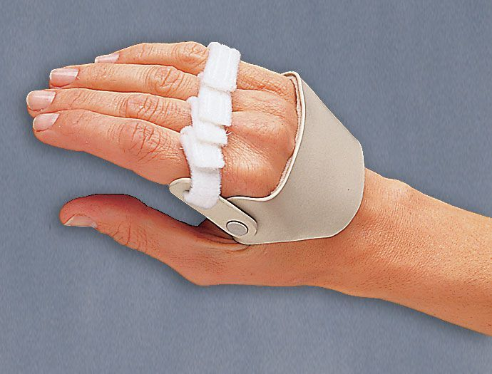 Metacarpal splint (orthopedic immobilization) / ulnar nerve anti-compression 3-Point Products
