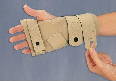 Metacarpal splint (orthopedic immobilization) / ulnar nerve anti-compression COMFORTER™ 3-Point Products