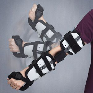 Elbow orthosis (orthopedic immobilization) / with handle / articulated R.O.M.E.O. 3-Point Products