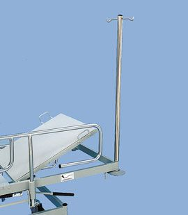 Bed IV pole / with infusion pump bracket N127 Savion Industries
