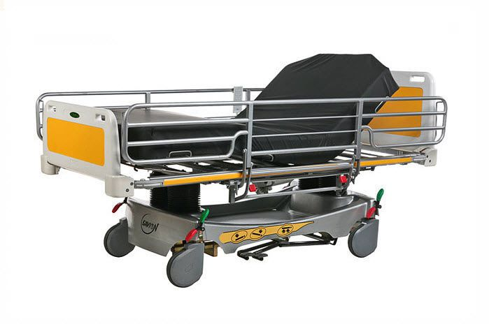 Intensive care bed / electrical / height-adjustable / 4 sections Model HLF 574 Savion Industries
