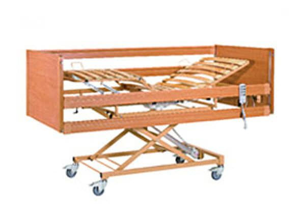 Homecare bed / electrical / on casters / 4 sections Med II Savion Industries