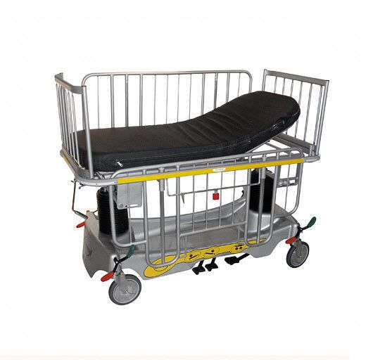 Transport stretcher trolley / pediatric / height-adjustable / mechanical Model PS410 Savion Industries