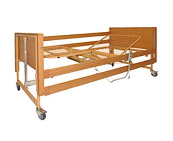 Homecare bed / electrical / on casters / 4 sections Ultra Savion Industries