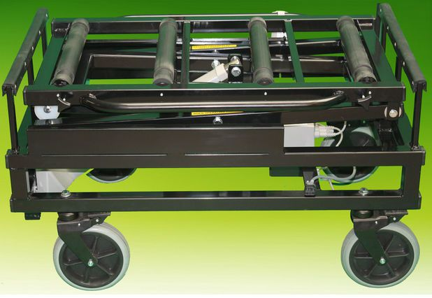 Mortuary trolley / coffin / lifting / bariatric max. 320 kg | Crematorium Universal A.R. Twigg & Son