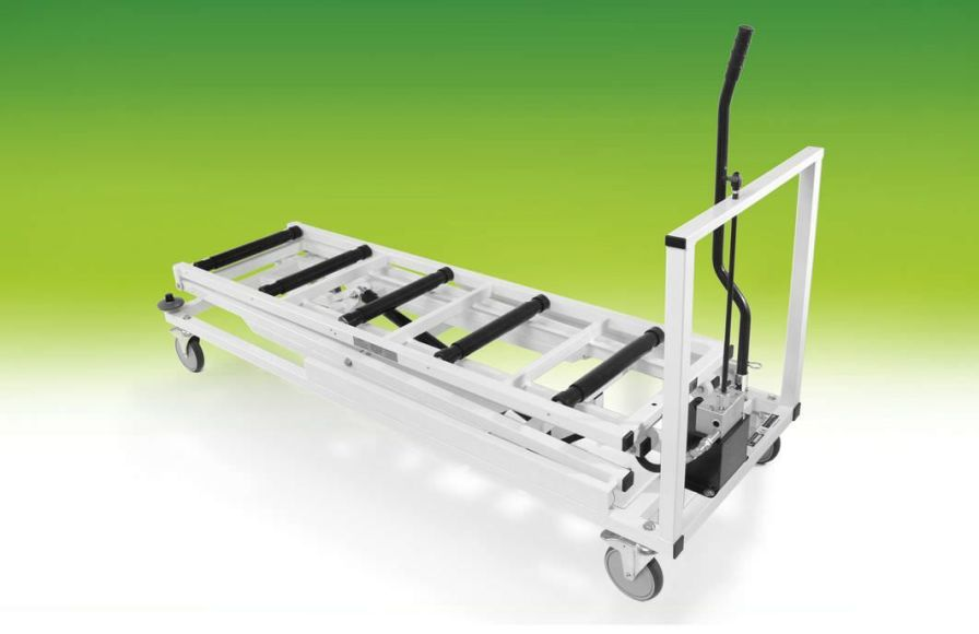 Storage trolley / mortuary / loading / coffin max. 200 kg | Short Top A.R. Twigg & Son