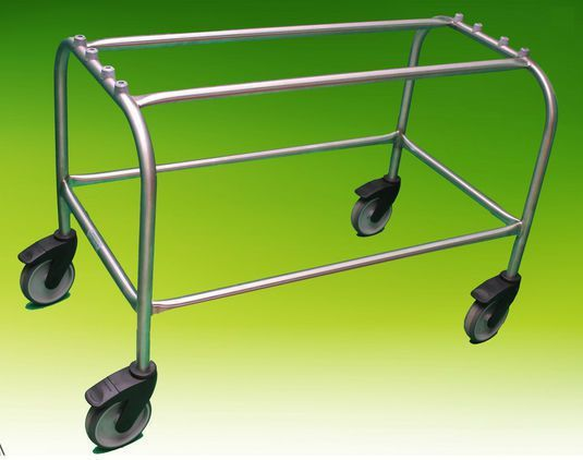 Coffin trolley / stainless steel Fixed A.R. Twigg & Son