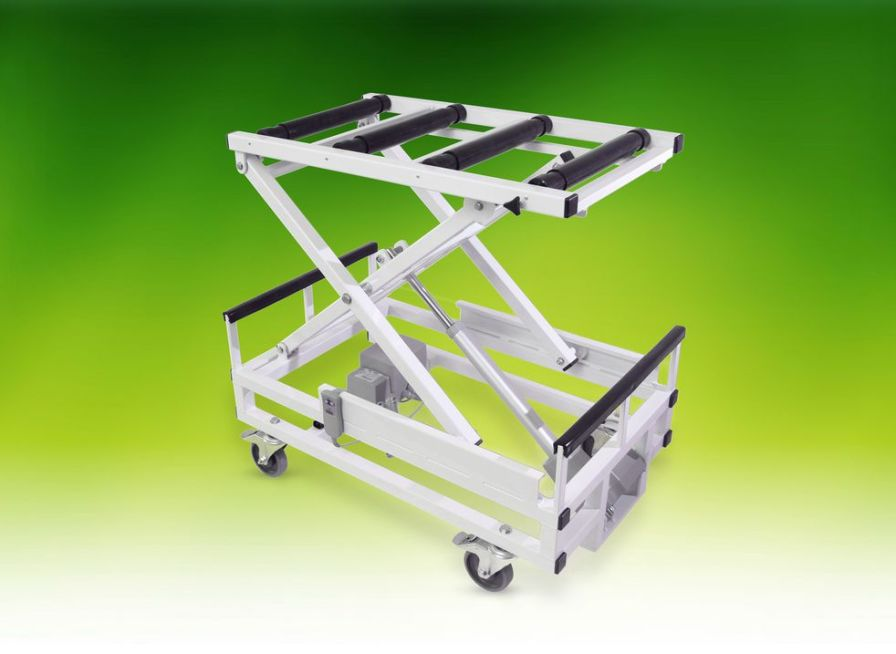 Mortuary trolley / coffin / height-adjustable / lifting max. 320 kg | Universal A.R. Twigg & Son
