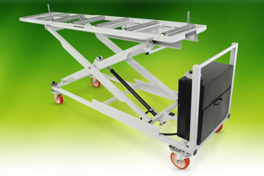 Mortuary trolley / loading / coffin / height-adjustable 285 kg, 320 kg | Long Top A.R. Twigg & Son