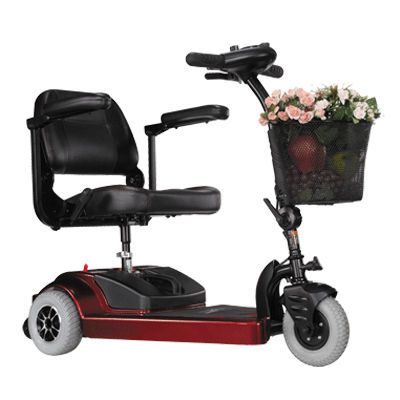 3-wheel electric scooter S33 Picnic Heartway Medical Products