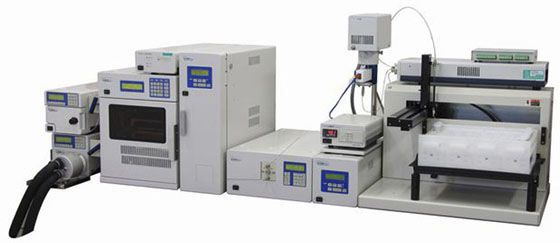 Supercritical fluid chromatography system SFC- SP-2086 Jasco
