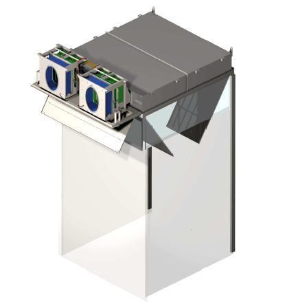 Healthcare facility filtering ceiling BIOCAIR™ IF Airinspace SAS