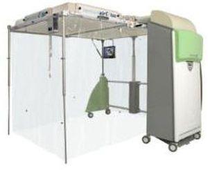 Mobile isolator IMMUNAIR™ Airinspace SAS