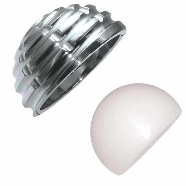 Traditional acetabular prosthesis / cemented Versacem Medacta