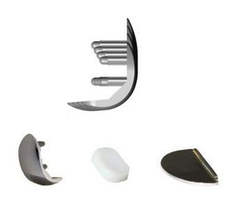Unicompartmental knee prosthesis / mobile-bearing / traditional GMK UNI Medacta