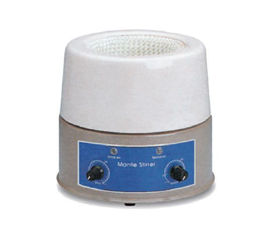 Laboratory heating mantle with magnetic stirrers 450 °C | GLHMS Jisico