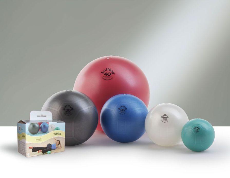 Pilates ball ø 15 - 44 cm | Original Pezzi® Maxafe® Ledragomma Original Pezzi