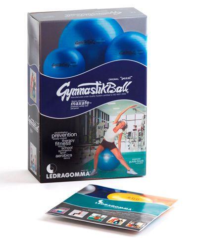 Large size Pilates ball ø 42 - 75 cm | Original Pezzi® MAXAFE® Ledragomma Original Pezzi