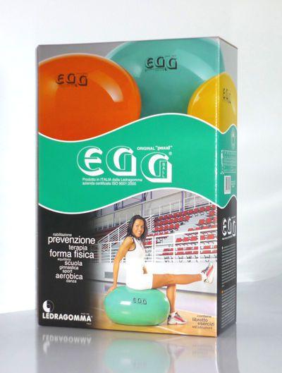 Egg ball ø 45 - 85 cm | Original Pezzi® Eggball® STANDARD Ledragomma Original Pezzi