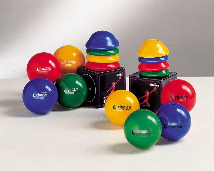 Small Pilates ball ø 17.5 - 19 cm | Original Pezzi® Ritmica Ledragomma Original Pezzi