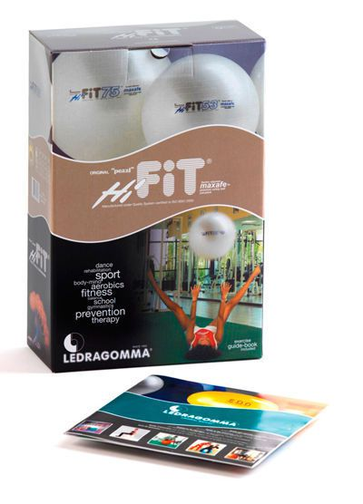 Large size Pilates ball ø 53 - 75 cm | Original Pezzi® Hi?Fit® MAXAFE® Ledragomma Original Pezzi
