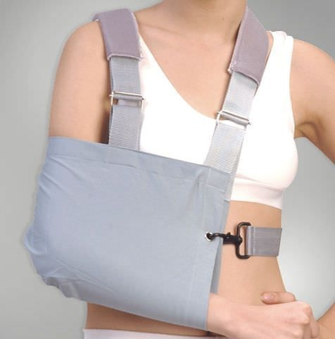 Arm sling with waist support straps / human DR-124 Dr. Med