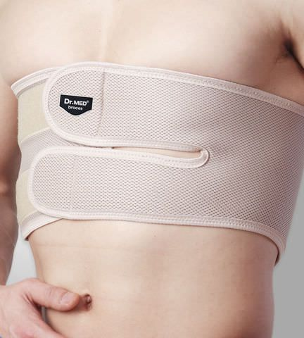 Sternum orthosis (orthopedic immobilization) / flexible DR-B019 Dr. Med