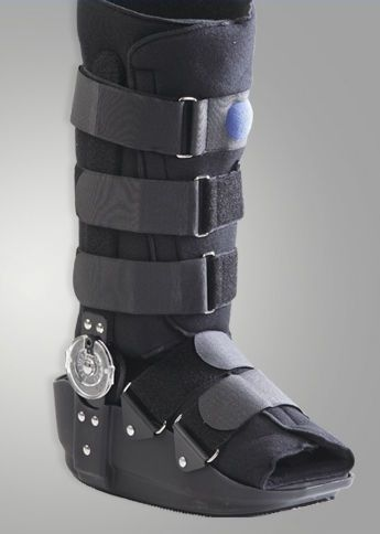 Long walker boot / articulated / inflatable DR-A017-2 Dr. Med