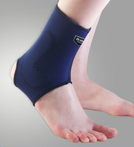 Ankle sleeve (orthopedic immobilization) / open heel / with malleolar pad DR-A003 Dr. Med