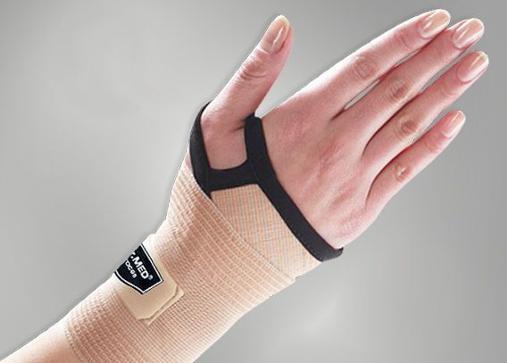 Wrist strap (orthopedic immobilization) / with thumb loop DR-W136 Dr. Med