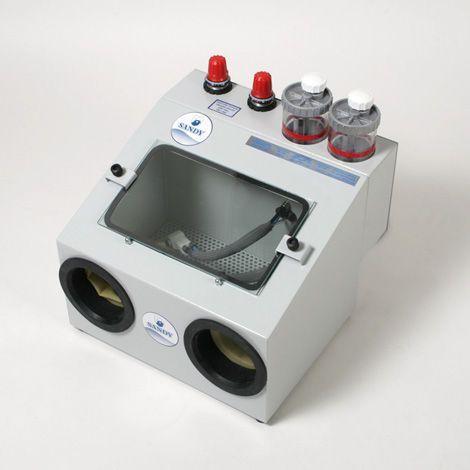 Dental laboratory sandblaster MS SANDY max steam by max stir srl